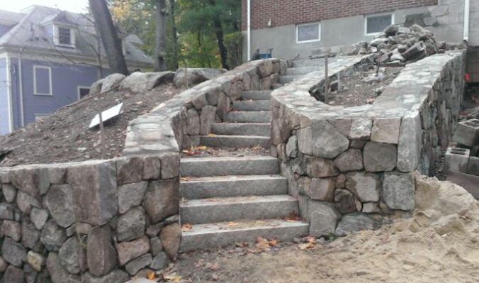 Natural Stone Work in Revere, MA